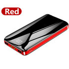 900000mAh Power Bank 2USB Portable External Battery Backup Charger Fast Charging