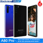 Blackview A80 Pro Smartphone 4gb+64gb Mobile Phone Quad Camera Dual Sim 6.49inch