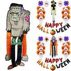 Happy Halloween Balloons Garland Set Room Party Fance Decors Props Decoration
