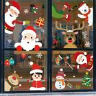 2020 Merry Christmas Window Stickers Christmas Decorations For Home Wall Glass S