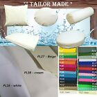 PL38-TAILOR MADE Cre-White Outdoor Waterproof Sun Umbrella Patio sofa seat cover