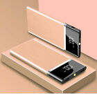 Ultra-thin Portable External Battery Huge Capacity Power Bank 50000mAh Charger