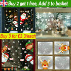 Christmas Xmas Santa Removable Window Stickers Art Decal Wall Home Shop Decor Ng