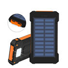 US 3000000mAh Portable Best Solar Power Bank 2USB Polymer Backup Battery Charger