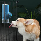 Dog Cat Portable Cage Hanging Kettle Automatic Drinking Fountain Pet Supply