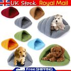 Pet Cat Dog Nest Igloo Bed Soft Warm Puppy Cave House Sleeping Bag Mat Kennel