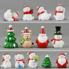 Christmas+Miniature+Snowman+Santa+Claus+Fairy+Garden+Figures+Terrarium+Decor+Neu