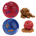 Pet Ball Puzzle Toy Food Dispenser -Treat Ball For Dog Interactive Play Toy UK