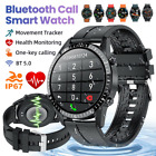 Bluetooth Call Smart Watch Heart Rate Monitor Waterproof For Android iOS Phones