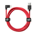 JuicEBitz® HEAVY DUTY 20AWG Type C USB Right Angle FAST Data Charging Cable Lead