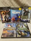 Gamecube Game Lot Fantastic Nemo Medal Tony Hawk TMNT