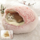 Small Dog Cat Nest Igloo Bed Puppy Kitten Soft Warm House Cushion Cave Kennel