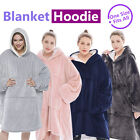 Hoodie Blanket Oversized Big Giant Ultra Plush Sherpa Hooded Fleece Sweatshirt