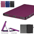 Litchi Tablet Case For Huawei MediaPad T5 10 10.1'' Flip Stand PU Leather Cover