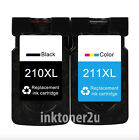 PG-210XL CL-211XL Black Color Ink Cartridge Combo For Canon Pixma MG5720 MG5721