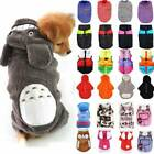 Small Dog Coat Hoodies Jacket Winter Costumes Pet Soft Clothes Sweater Chihuahua