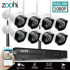 WIFI Wireless Security System CCTV Set 8CH NVR 2.0MP Outdoor Camera Night Vision