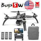 MJX Bugs 5W B5W RC Drone/Camera 4K 5G Wifi Quadcopter GPS Backpack+Battery H6R6