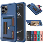 For Iphone 12 Pro Max 11 7/8 Xr X Leather Wallet Card Slot Back Case Flip Cover
