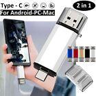 TYPE-C OTG 2 in 1 USB Memory Photo Stick Flash Pen Drive Android/Samsung/PC/Mac
