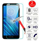 2 Pack Tempered Glass Screen Protector For Motorola Moto G Fast/Stylus/G 5G Plus