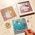 Kids Animal DIY 5D Diamond Painting Embroidery Cross Craft Stitch Art Kit Gifts