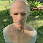 Old Man Scary Mask Halloween Masks Full Head Latex Mask Party Cosplay Funny Face