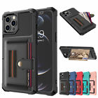 For Iphone 12 Pro Max 11 8/7/6s Xr Leather Wallet Card Slot Back Case Flip Cover