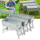 BBQ Grill Portable Barbecue Grill Outdoor Traveling Camping Garden Charcoal