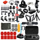 New Model Black Action Camera Accessories Kit For GoPro Hero 7/6/5/4 GoPro HERO7 accessories action black camera for gopro hero kit model new