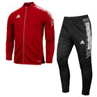 Adidas Condivo 21 Training Suit Tracksuits Sets Athletic Red GH7124 GN5436