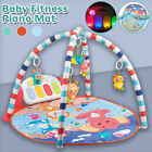 Large Baby Game Pad Music Pedal Piano Music Fitness Rack Crawling Mat Kids Play