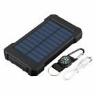 Solar Power Bank 5000000mAh Portable Dual USB External Battery Charger For Phone