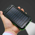 5000000mAh Solar Power Bank USB Battery Fast Charger LED for Mobile Phone Backup