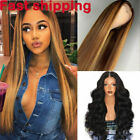 Women Full Wig Brazilian Hair Body Wave/Straight Lace Front Cosplay Hair Wigs