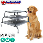 Portable Raised Dog Bed Cat Puppy Pet Elevated Cot Waterproof Outdoor Hammock