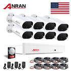 Zoohi Home CCTV Security Camera System Outdoor 4/8CH 1/2TB HDD Wired HD WiFi Kit