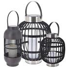 Solar Lights Outdoor Waterproof Battery Candles Patio Hanging Free Standing Lamp