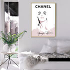 Home Hanging Picture Decor Print Paper Canvas Wall Art Chanel Girl Poster