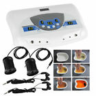Profession Dual User Ion Detox Ionic Foot Bath Ion SPA Machine Cell Cleanse Set