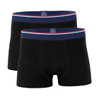 2 Pack Mens Modal Boxer with Cotton Fiber, Silky Soft Comfort Stretchy Durable