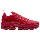 Nike Air VaporMax Plus Triple Red Men's CW6973-600 All sizes Brand New In Box