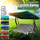 2&3 Seater Replacement Canopy Top Cover For Garden Patio Outdoor Swing Chair