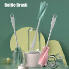 Long Handle Soft Silicone Non Slip Remove Stains Bottle Brush Cleaning Tool
