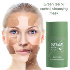 Green Tea Purifying Clay Stick Solid Mask Acne Blackhead Remover Cleansing Gift