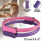 Pilates Ring Yoga Circle Stretch Exercise Gym Fitness Body Trainer Magic Tool US