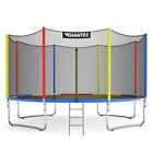 Topbuy 12FT/14FT/15FT/16FT Trampoline Combo Bounce Jump Safety Enclosure Net New