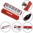 New 32 Keys Melodica W/ Carrying Bag Mouthpiece Black Pink Blue Red Green
