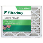 FilterBuy 20x25x6 AC Air Filters Aprilaire Space Gard 201 Compatible (MERV 8)