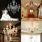 Multi Crystal Chandelier Ceiling Lamp Pendent Light Glass Beads Mixed Huge Sizes